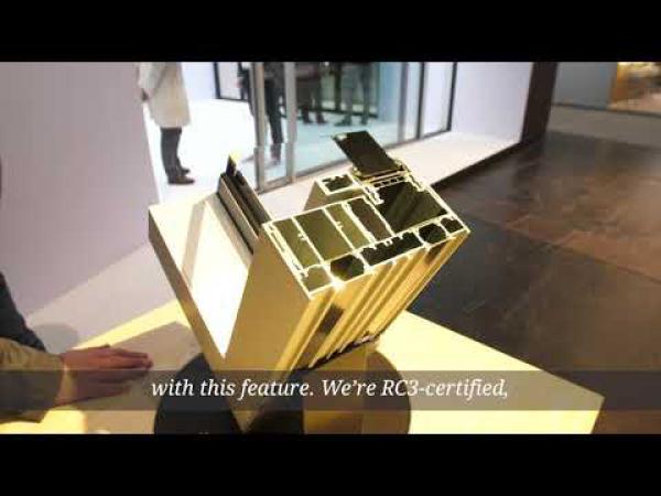 Embedded thumbnail for BAU2019: раздвижные системы CERO
