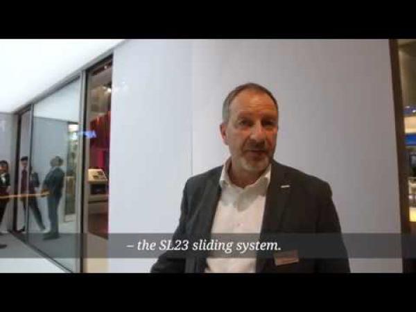 Embedded thumbnail for BAU2019: Безрамная раздвижная система остекления SL23